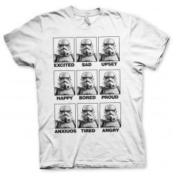 Men T-shirt Star Wars MOODS...