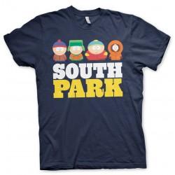 Men T-shirt SOUTH PARK blue