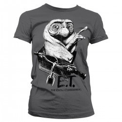 Women T-shirt E.T. BIKING...