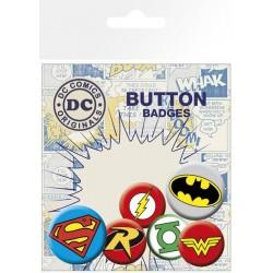 DC Comics Pin Badges 6-Pack...