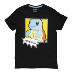 T-shirt Pokémon Squirtle black