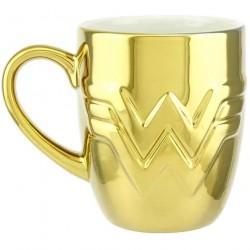 Mug 3D metalic gold DC...