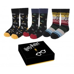 Harry Potter Socks 3-Pack...