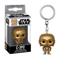 Funko POP keychain C-3PO 5 cm