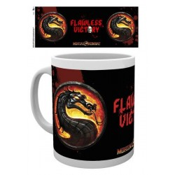 Mortal Kombat Mug Flawless...