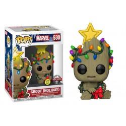 POP figure Groot Holiday 9...