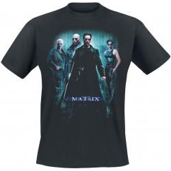 Men T-shirt Matrix black
