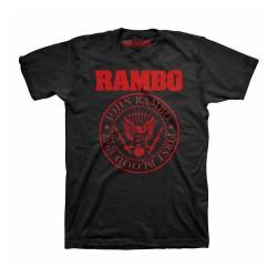 Men T-shirt Rambo black