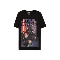 Men T-shirt Darth Vader black