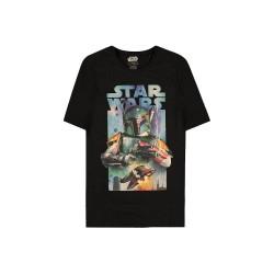 Men T-shirt Boba Fett black