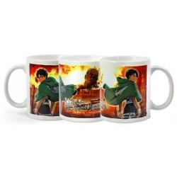 Attack on Titan Mug Duo heo...