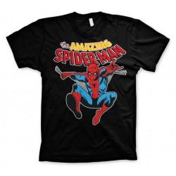 Men T-shirt Spider-man black