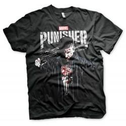Men T-shirt Punisher Blood...