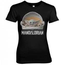 Women T-shirt Mandalorian...