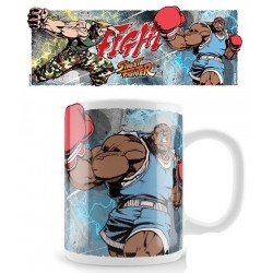 Street Fighter Mug Guile...
