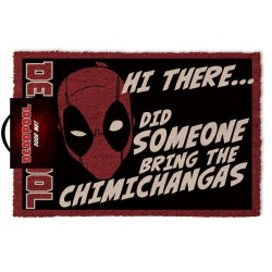 Deadpool Doormat Hi There...