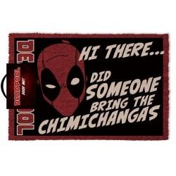 Deadpool Doormat Hi There...