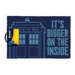 Doctor Who Doormat Tardis...