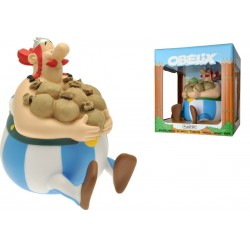 Asterix Bust Bank Sitting...