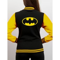 Batman Varsity Jacket Black...