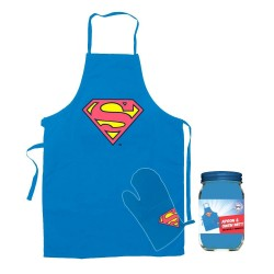 Superman cooking apron with...