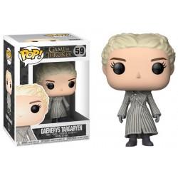 9 cm Funko Mini figures Game of Thrones POP White Coat Vinyl Figure Daenerys