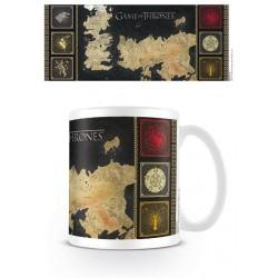 Game of Thrones Mug Map 300 ml
