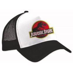 Jurassic Park Trucker Cap Logo