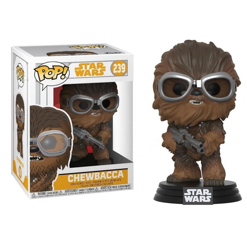 Star Wars Solo Pop Movies Vinyl Bobble Head Chewbacca