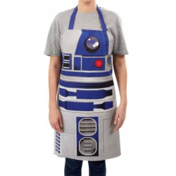 Star Wars Apron R2-D2 white...