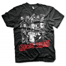 Men T-shirt Suicide Squad...