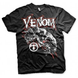 Men T-shirt Marvel Venom black