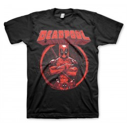 Men T-shirt Marvel Deadpool...