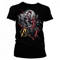 Women T-shirt Marvel Heroes...