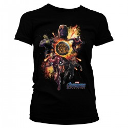 Women T-shirt Marvel...