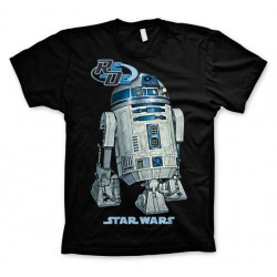 Men Star wars R2-D2 black