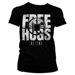 Women T-shirt Alien Free...