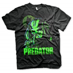 Men T-shirt Predator black
