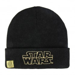Star wars gold logo black...