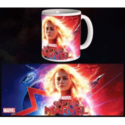 Captain Marvel Mug Glowing...