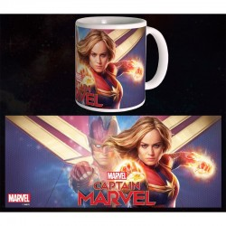 Captain Marvel Mug Hero 300 ml