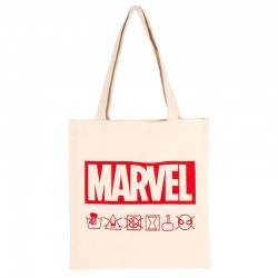 Marvel shopping bag straps