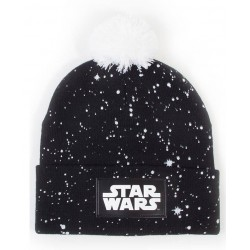 Star wars logo black beanie
