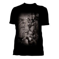 Women T-shirt Marvel...