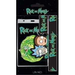 Rick and Morty Lanyard with...