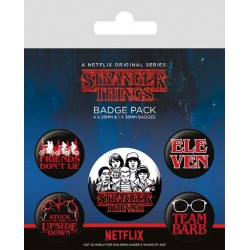 Stranger Things Pin Badges...