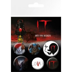 IT Pin Badges 6-Pack Mix